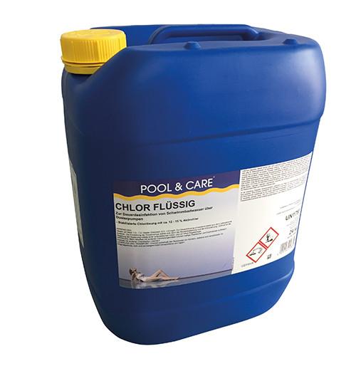 Chlor flüssig 24 kg (nur Abholung)