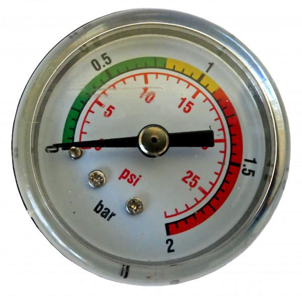 Manometer für Filteranlage CF/OK