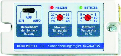 SOLAX Sonnenheizungsregler