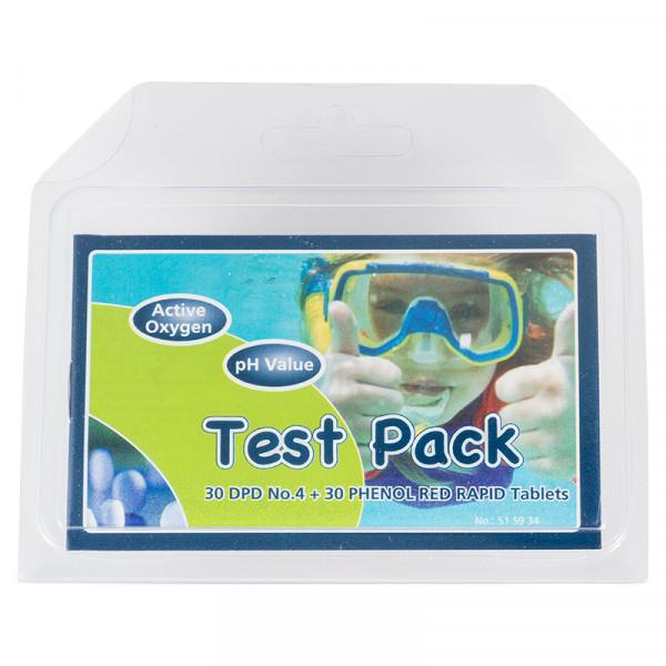 Nachfüllpakung für Chlor und PH Tester