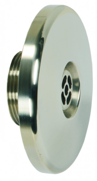 Einlaufdüse in V4A, Blende D = 105 mm