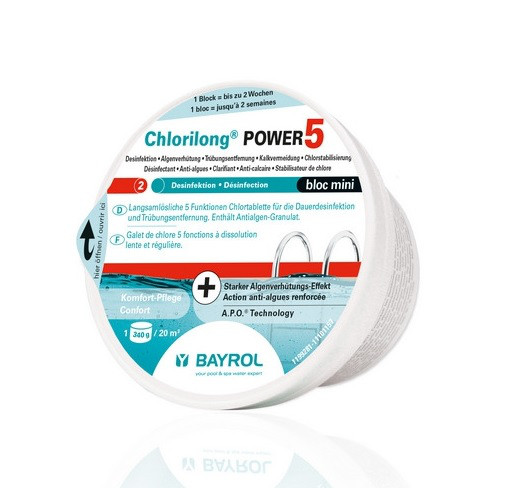 Bayrol Chlorilong Power 5 Block Mini