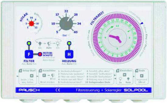SOLPOOL-230 Solarfiltersteuerung