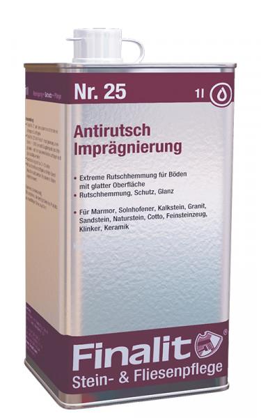 Finalit Nr 25 Antirutsch-Imprägnierung