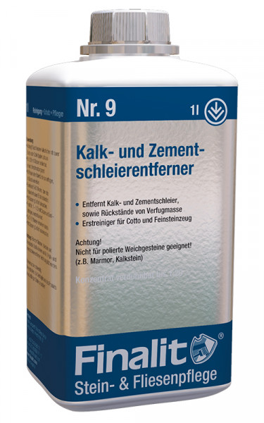 Finalit Nr 9 Kalk- und Zementschleier Entferner