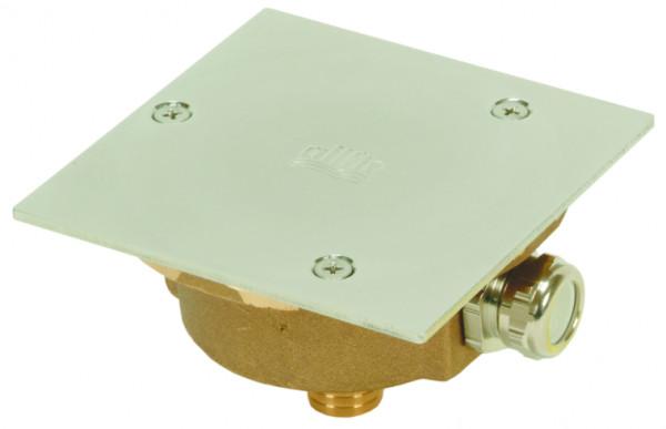 Kabelanschlussdose Rg5 mit Deckel V4A