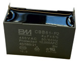 Kondensator 6 uF zu Lüftermotor Ac 25