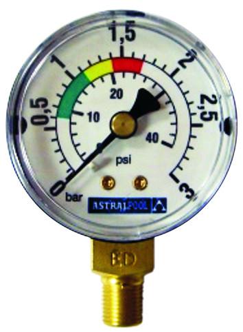 Manometer (Anschluss seitlich)