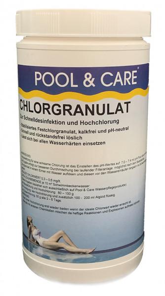 Chlorgranulat schnelllöslich