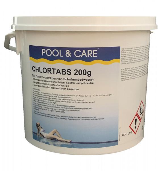 Chlortabletten 200 g, langsamlöslich