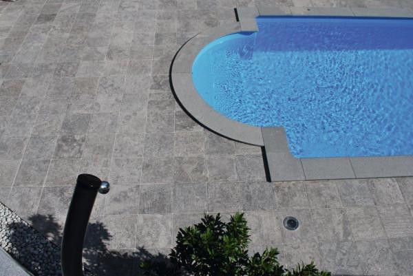 Terrassenplatten Granit Padang Dark, 60 x 40 x 2 cm