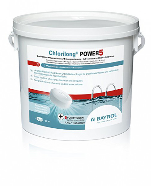 Bayrol Chlorilong Power 5 Tabletten 250 g